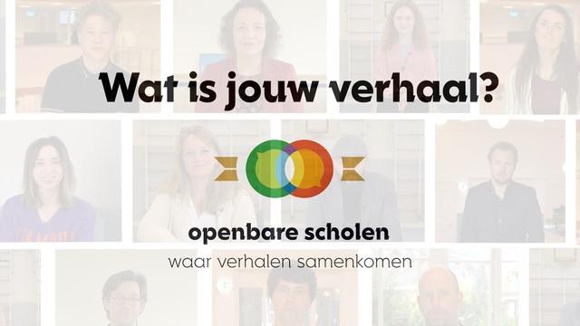 Compilatievideo verhalen over het openbaar onderwijs